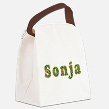 Sonja Floral Canvas Lunch Bag