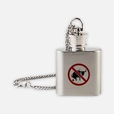 Cute Booze Flask Necklace