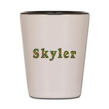 Skyler Floral Shot Glass