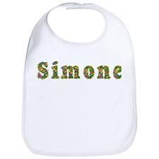 Simone Floral Bib