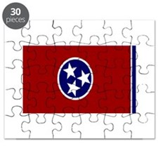Tennessee State Flag Puzzle