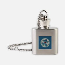 Autism Awareness (B2b) Flask Necklace