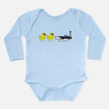 Duck Duck Boost Long Sleeve Infant Bodysuit