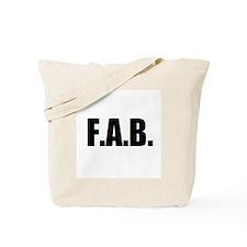 F.A.B. Tote Bag