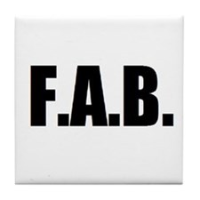 F.A.B. Tile Coaster