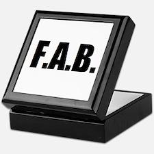 F.A.B. Keepsake Box