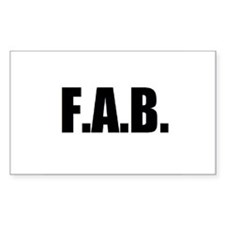 F.A.B. Decal