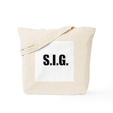 S.I.G. Tote Bag