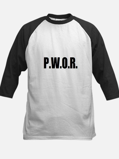 P.W.O.R. Kids Baseball Jersey