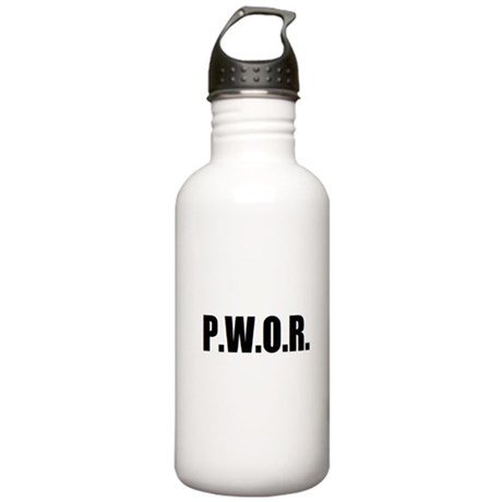 P.W.O.R. Stainless Water Bottle 1.0L