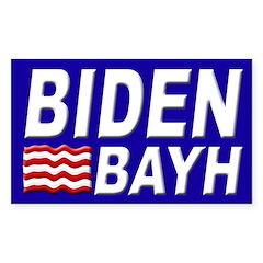 Biden-Bayh 2008 bumper sticker