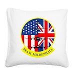 Team Mildenhall Square Canvas Pillow