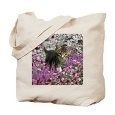 Emma in Flowers I Tote Bag