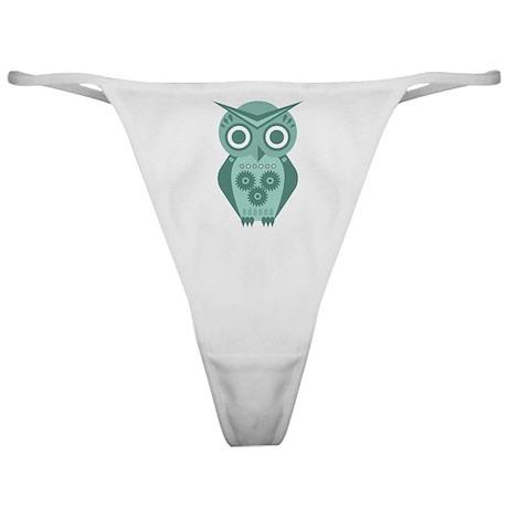 Owl Robot #2 Classic Thong