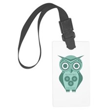 Owl Robot #2 Luggage Tag