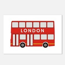 Double Decker Postcards (Package of 8)