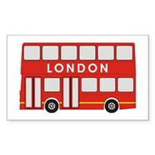 Double Decker Rectangle Decal