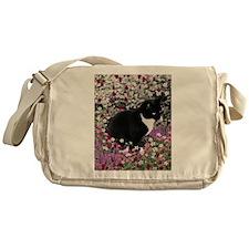 Freckles in Flowers II Messenger Bag
