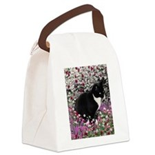Freckles in Flowers II Canvas Lunch Bag