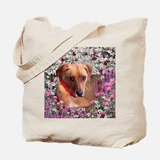 Trista in Flowers Tote Bag