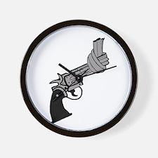 Knotted Gun Wall Clock
