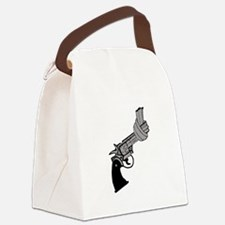 Knotted Gun Canvas Lunch Bag