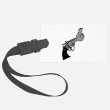 Knotted Gun Luggage Tag