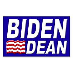 Biden-Dean 2008 bumper sticker