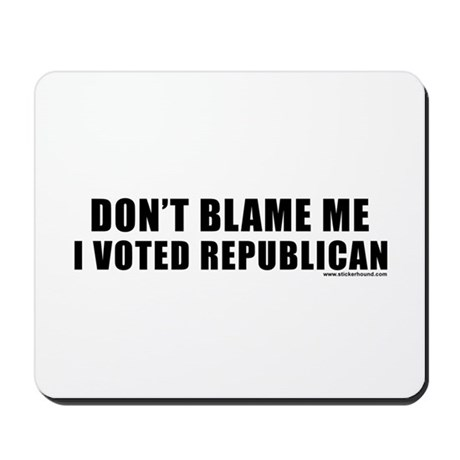 dontblame_white.png Mousepad
