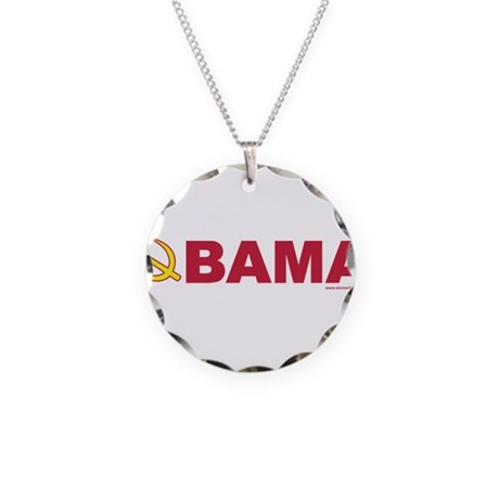 obamarussian_whiteredyellow.png Necklace Circle Ch
