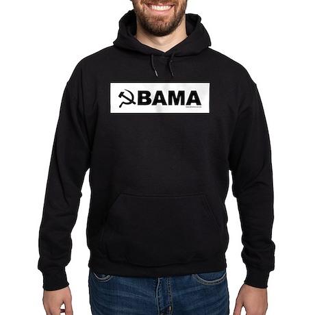 obamarussian_whiteblack.png Hoodie (dark)