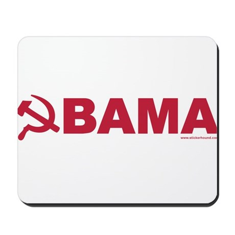 obamarussian_whitered.png Mousepad