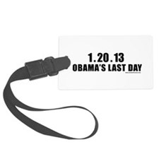 obamalastday_white.png Luggage Tag