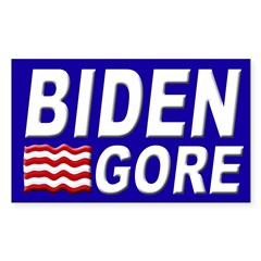 Biden-Gore 2008 bumper sticker