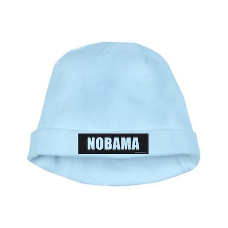 NOBAMAblack.png baby hat