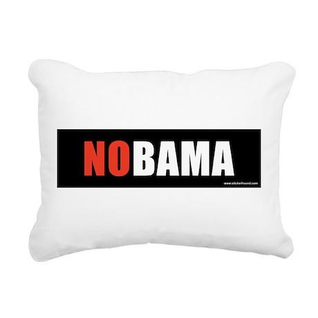 NOBAMAredno.png Rectangular Canvas Pillow