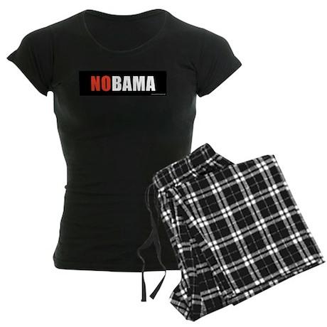 NOBAMAredno.png Women's Dark Pajamas