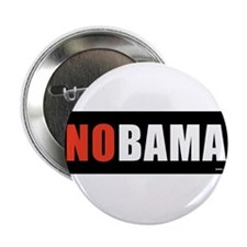 "NOBAMAredno.png 2.25"" Button (100 pack)"