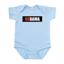 NOBAMAredno.png Infant Bodysuit