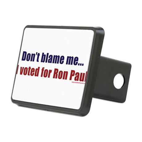 dontblameme_ronpaul.png Rectangular Hitch Cover
