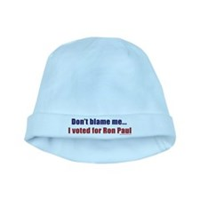 dontblameme_ronpaul.png baby hat