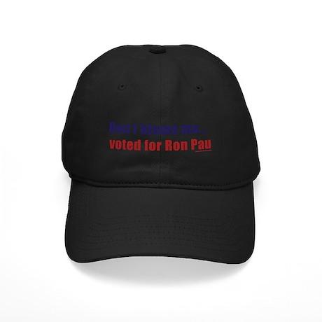 dontblameme_ronpaul.png Black Cap