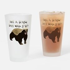 badger.png Drinking Glass