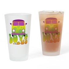 Love Bus Drinking Glass