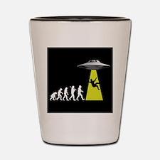 UFOvolution Shot Glass