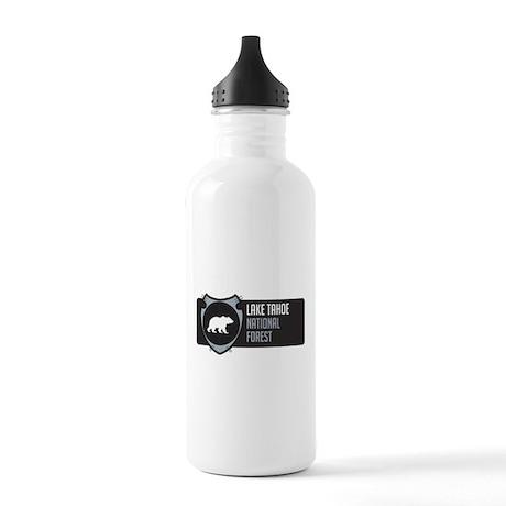 Lake Tahoe Arrowhead Badge Stainless Water Bottle