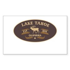 Lake Tahoe Belt Buckle Badge Decal