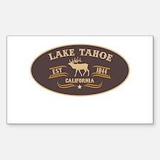 Lake Tahoe Belt Buckle Badge Decal