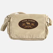 Lake Tahoe Belt Buckle Badge Messenger Bag