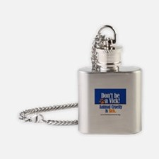 Don't Be a Vick! Flask Necklace
